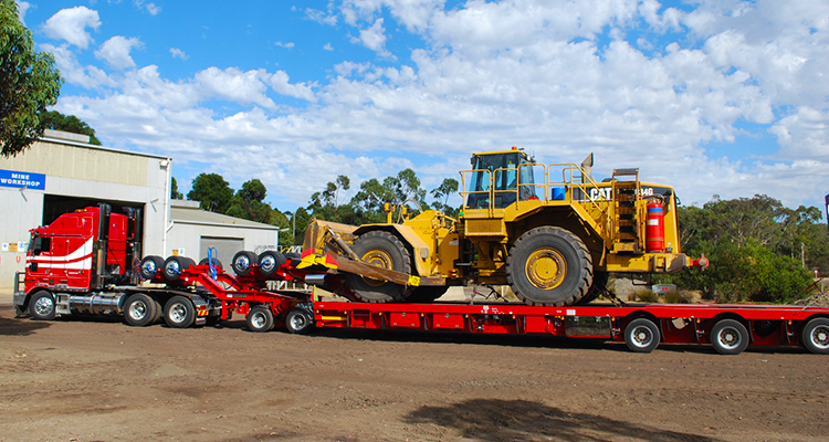 Heavy Equipment Shipping Services