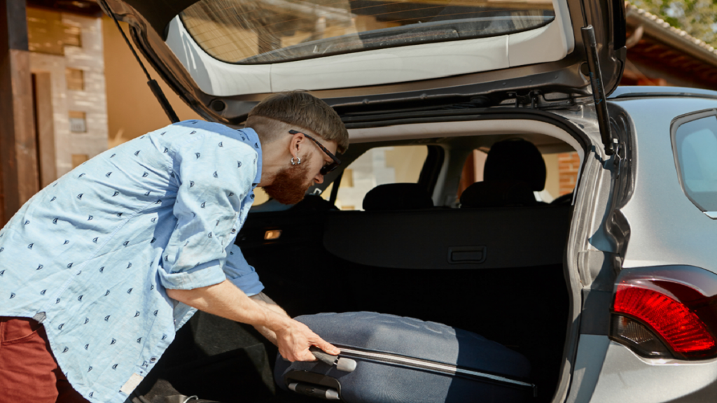 Remove Stuff Before Car Transport