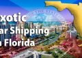 Exotic Car Shipping in Florida