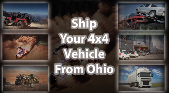 Ship Your 4×4 Vehicle From Ohio